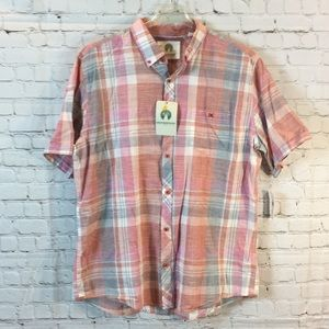 NWT Weatherproof plaid shirt